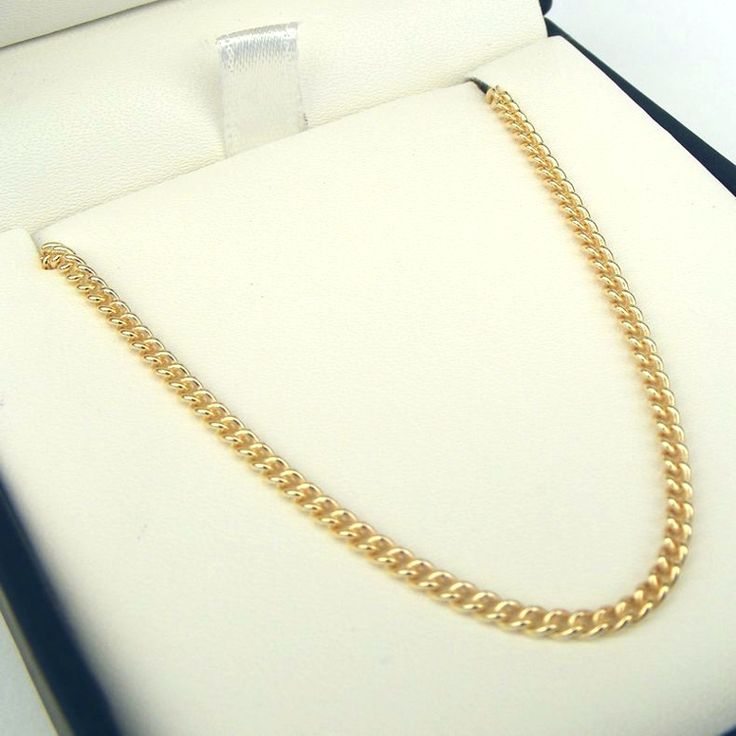 9ct Gold Round Curb Chain - MM-CUR-0011