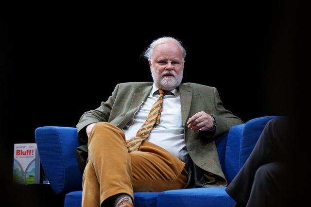 """15.10.2012 - MANFRED LÜTZ + FRANK SCHIRRMACHER über """"Bluff! Die Fälschung der Welt"""", via Flickr. - see dali48 and """"pseudo-reality"""" etc..."""