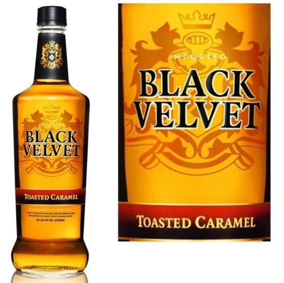 Black Velvet Roasted Caramel Whisky - http://www.cocktailpros.com/black-velvet-toasted-caramel