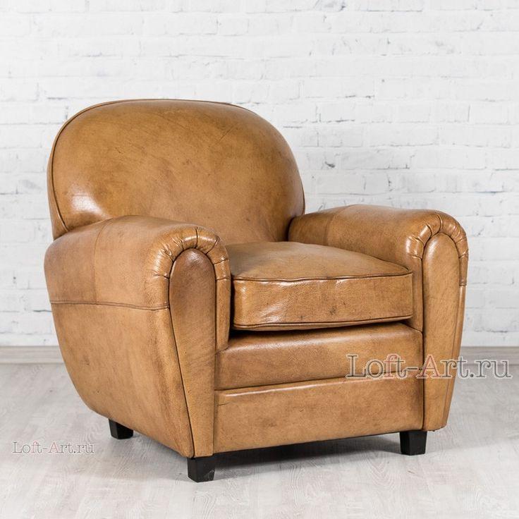 Кожаное кресло DANDY - Кожаные кресла - Кресла - Диваны и Кресла В стиле Лофт купить