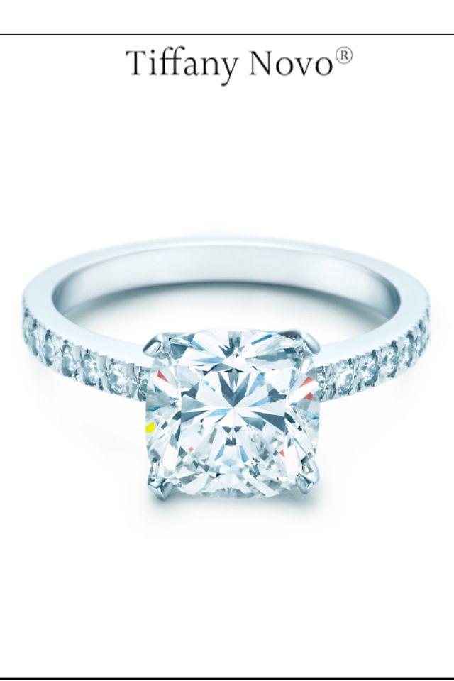 Tiffany Novo engagement ring.