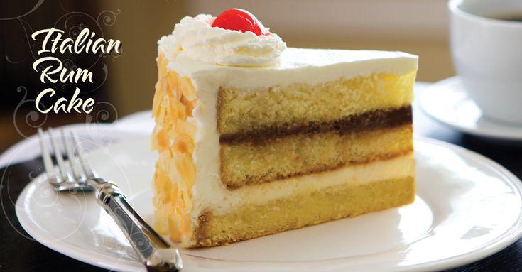 Rum Layer Cake Recipe