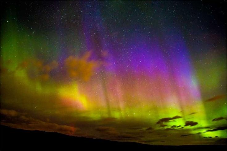 Aurora Borealis - Southern Alberta, Canada
