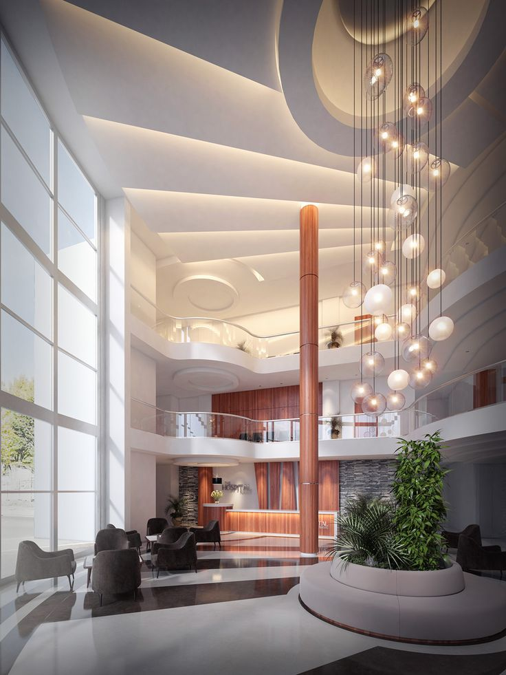 Hospital Entrance lobby design