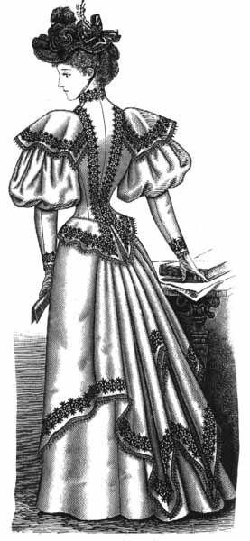 Vintage Victorian: 1890s Day Dress Details