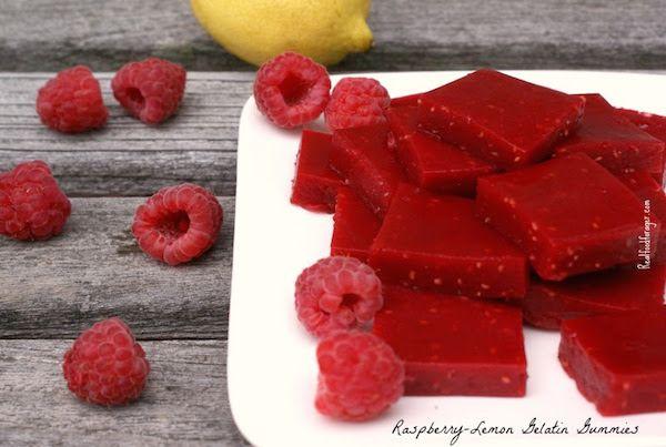 Recipe: Raspberry-Lemon Gelatin GummiesEdit description