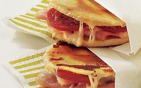 Ostetoast Lækre, lune, klassiske toast!