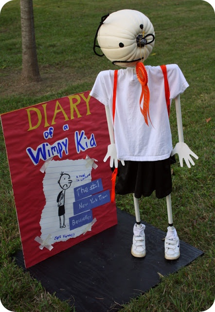 Diary of a wimpy kid pumpkin halloween crafts for Diary of a wimpy kid crafts