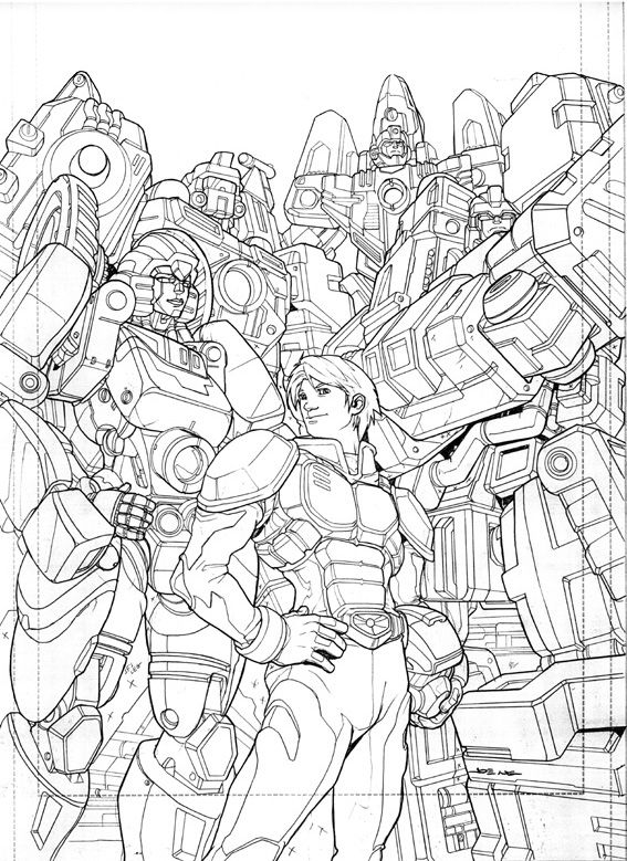 Transformers Energon 23 cover by NgBoy