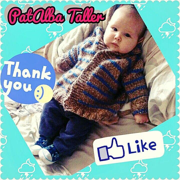 Hermoso se ve este principito con su chaleco tejido con capucha.... Muchas gracias @jara.paulita  👌😜 #patalbataller #diseñodeautor #emprendedora #artesana #tejidos #handmade #palillo #confeccionapedido
