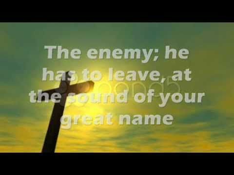 """""""Your Great Name"""" by Natalie Grant. This song preciously shares with us why there is so much power in God's name. . . and how it can change your life. -Lisa"""