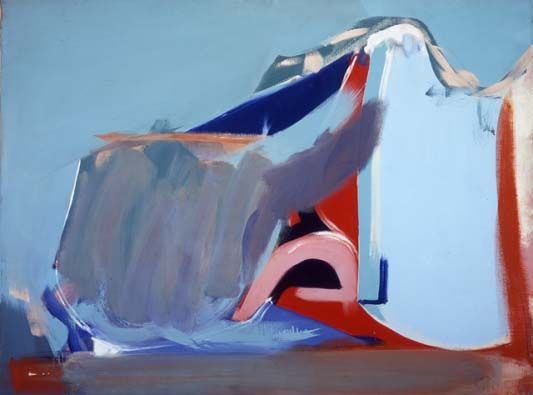 Peter Lanyon  Saltillo, Mexico, August 1963  Oil on canvas  91 x 122cm