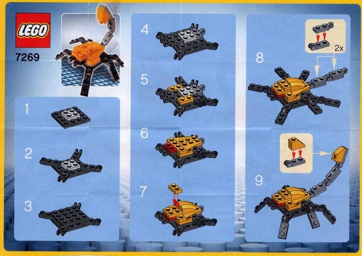 Make and Create - Scorpion  [Lego 7269]