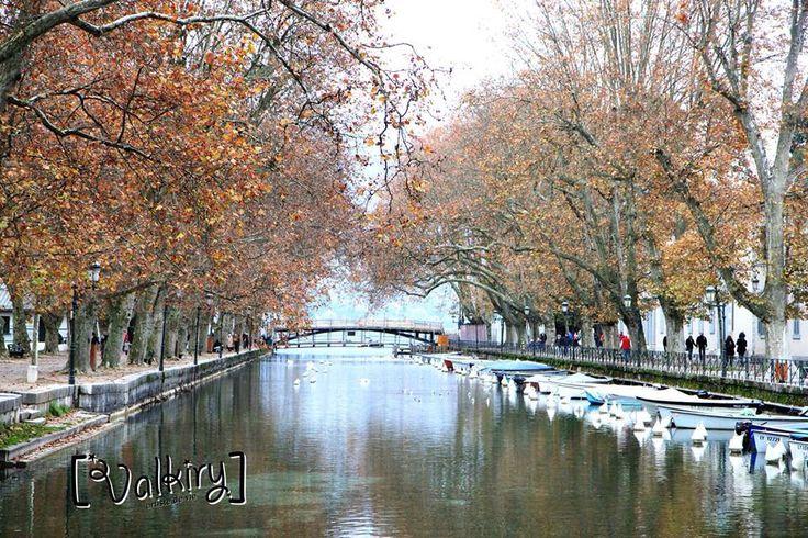 Les pont des Amours d'Annecy, France