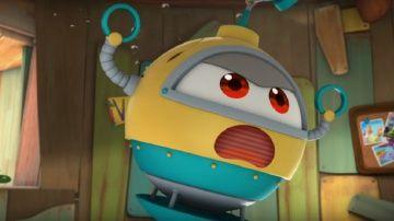 Мультфильмы - Марин и его друзья - Подводные истории - Рождение Лоджитрона http://video-kid.com/10480-multfilmy-marin-i-ego-druzja-podvodnye-istorii-rozhdenie-lodzhitrona.html  Однажды все замечают, что Лоджик вдруг начинает говорить и двигаться как-то странно. Вскоре выясняется, что он создал свою копию в виде робота, которого он назвал Лоджитроном! Марин и его друзья постоянно удивляются, как много вещей может делать Лоджитрон. Сначала Лоджик очень гордится своими результатами и ликует по…
