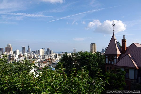 """The Kitano area in #Kobe with the """"German House"""" on the right."""