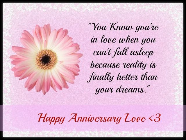Happy anniversary love quotes for him