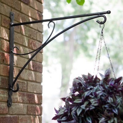 25 Best Ideas About Hanging Basket Brackets On Pinterest