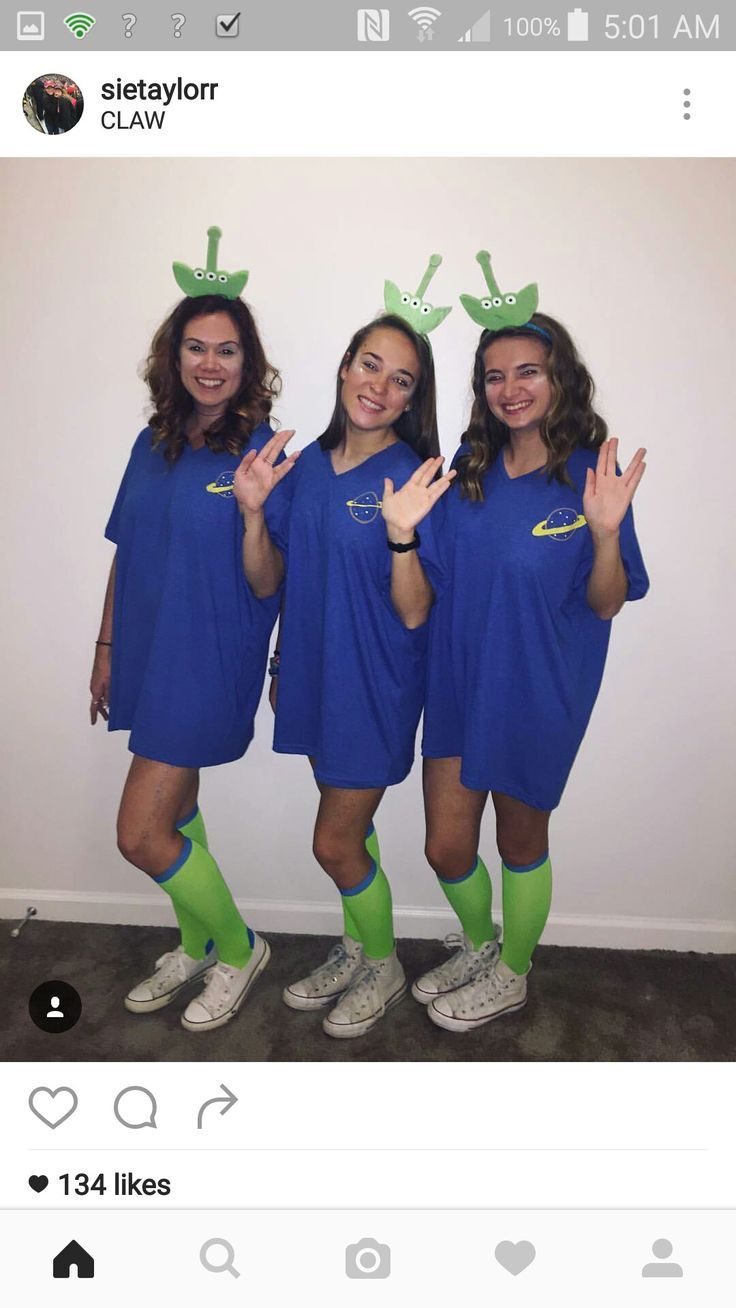 Image result for toy story alien costume