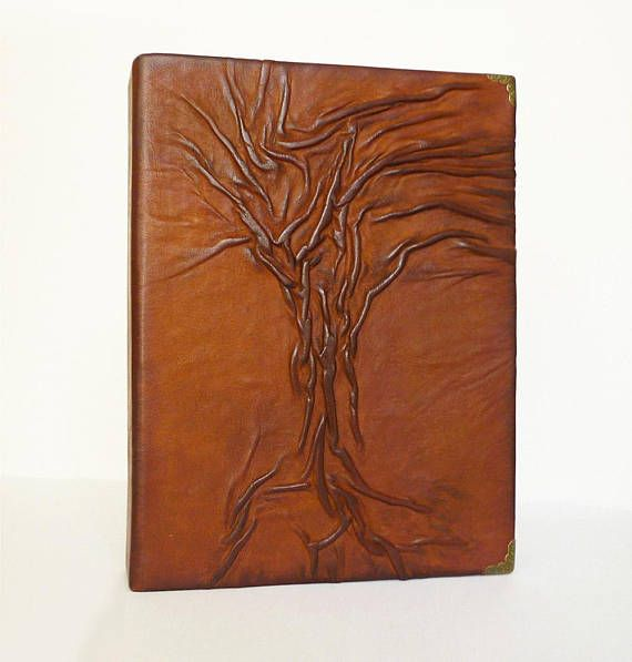 Leather Photo Album Anniversary Leather Gift for Him Her