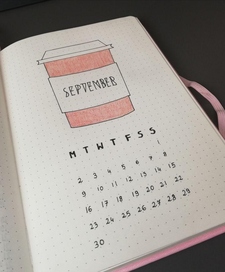 September Monat Seite