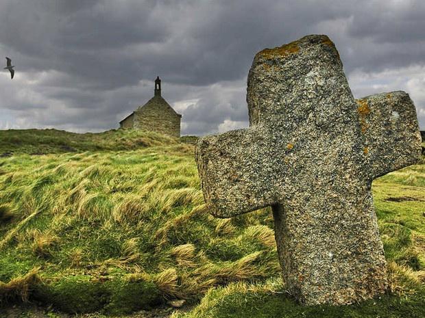 Chapelle de Saint-Samson dans le #Finistère.