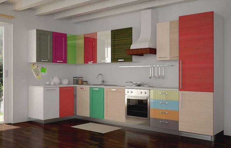 ... armadietto da cucina, Mobili da cucina dipinti e Banconi da cucina