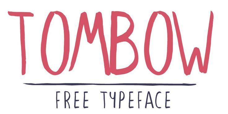Tombow Brush Typeface