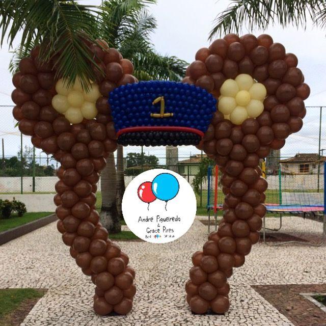 #urso #baloes #balloons #ursomaquinista #andrefigueiredo #gracepires