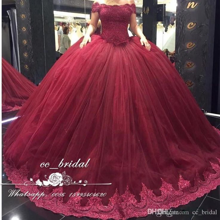 Burgundy Off The Shoulder Quinceanera Dresses 2017 With Appliques Lace Sweet 16 Dress Plus Size Masquerade Ball Gowns Vestidos De 15 Anos Dress Long Formal Dress Shops From Cc_bridal, $136.49  Dhgate.Com