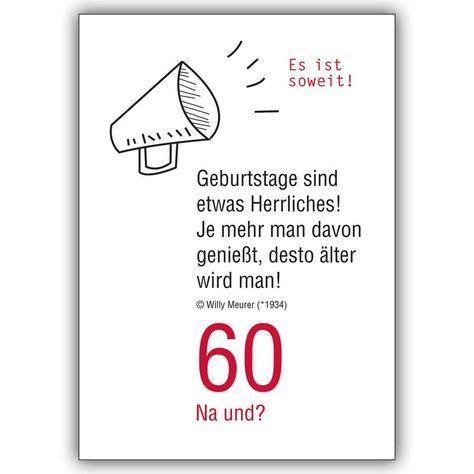 Artikel 60 geburtstag