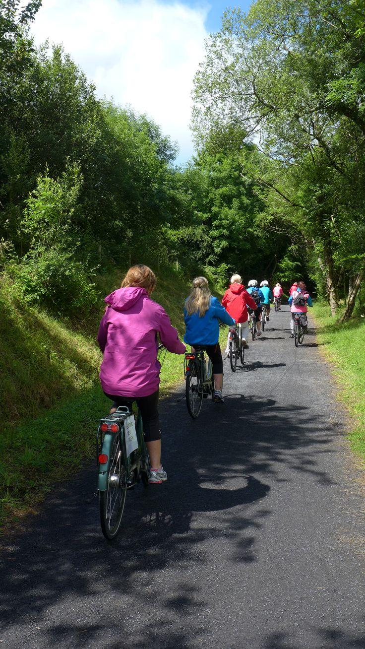 Green Way en vélo, Mayo, Irlande