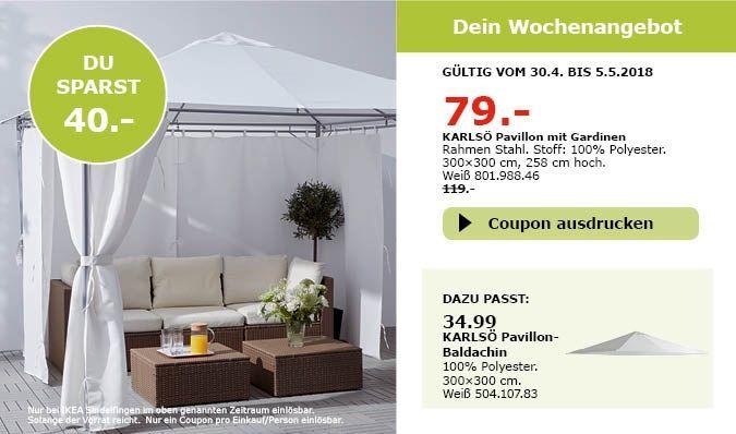 Ikea Karlso Pavillon Mit Gardinen Ikea Pavillon Gardinen