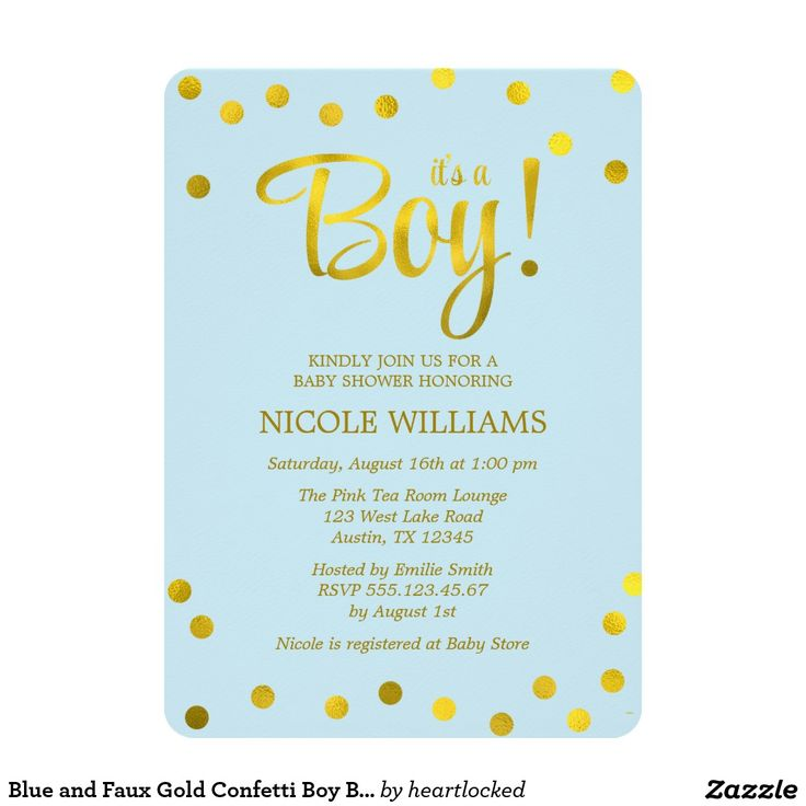 74 best Bouncing Baby Boy Shower Invitations images on Pinterest ...