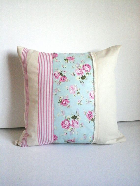 HOME pink  cushion cover /shabby chic pillows by lovepollylamb