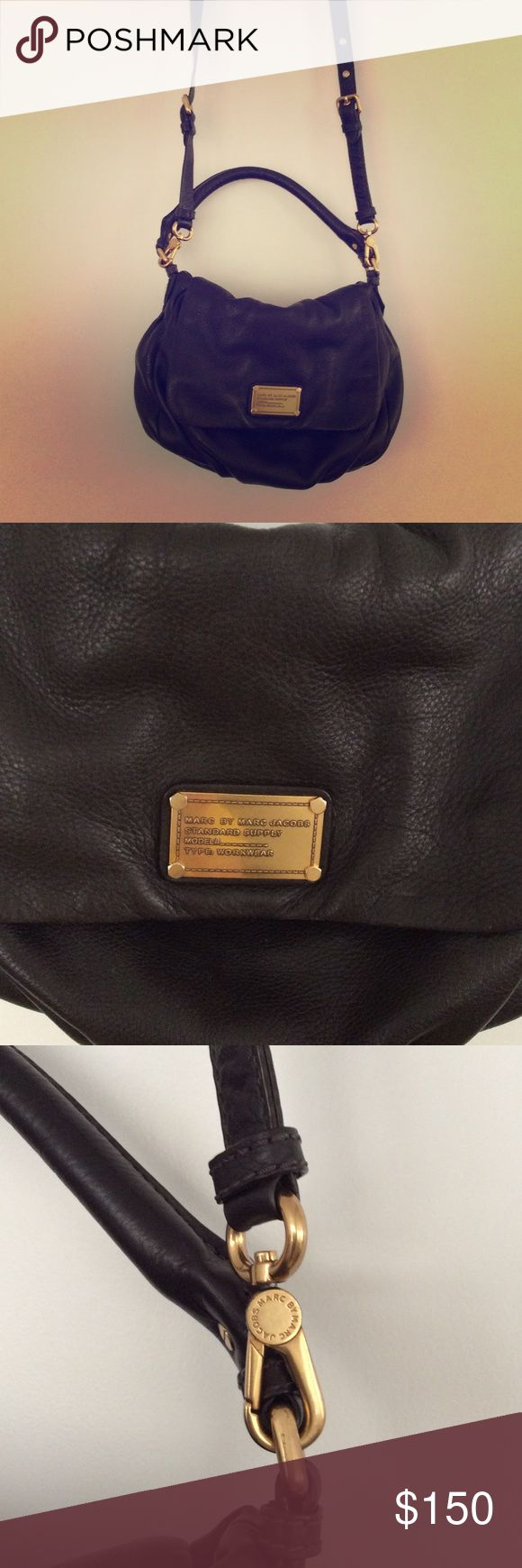 Marc Jacobs brown leather handbag Marc Jacobs stand supply work wear brown leather handbag in great condition! Marc by Marc Jacobs Bags Crossbody Bags
