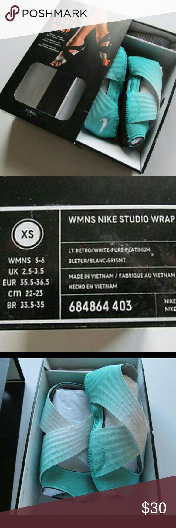 Fitness tools nike studio wraps - Nwt Nike Studio Wrap Dance Yoga Barre Shoe Nwt
