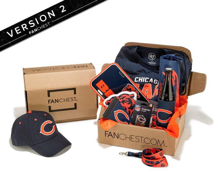 Chicago Bears Gift Box | Bears Gear + Merchandise | FANCHEST • FANCHEST