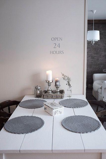 white and grey kitchen
