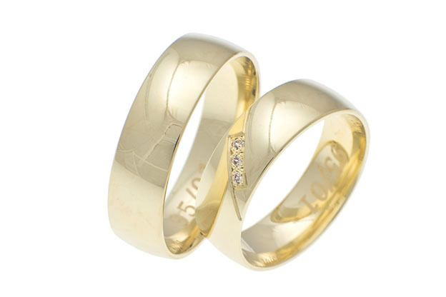 Snubné prstene - model č.  95/01