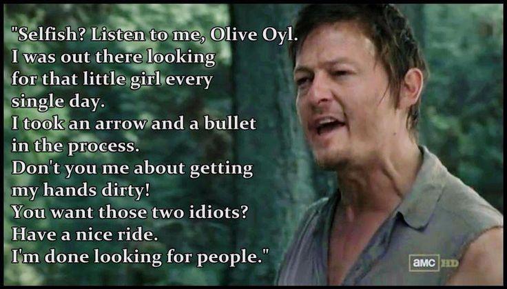 Funny Daryl Dixon Quotes. QuotesGram