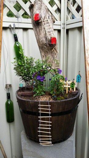My prize winning fairy garden