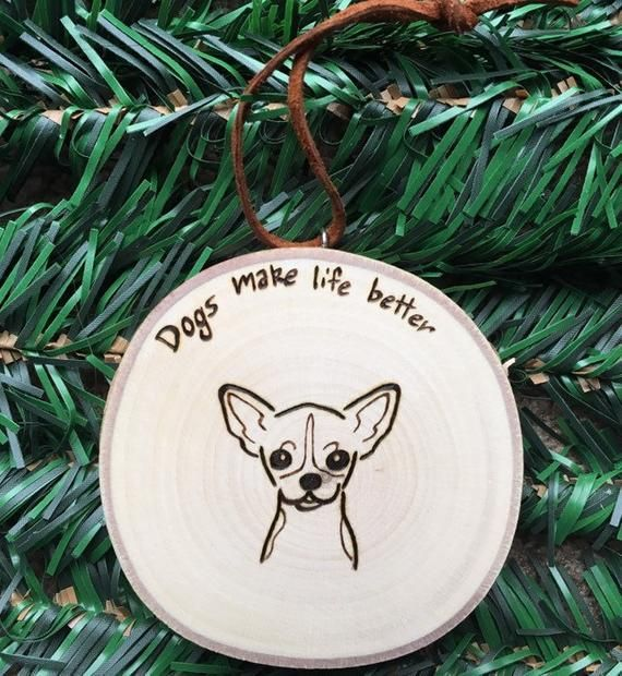 Personalized Chihuahua Ornament Chihuahua Mom gift Chihuahua Gift Chihuahua Ornament Chihuahua Mom Custom Ornament Custom Dog Ornament