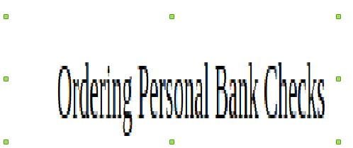 There are many private check printing companies and check printing suppliers these days. They supply quick and secure checks as well. Personal and business checks no longer need to be printed solely by your bank or credit union.