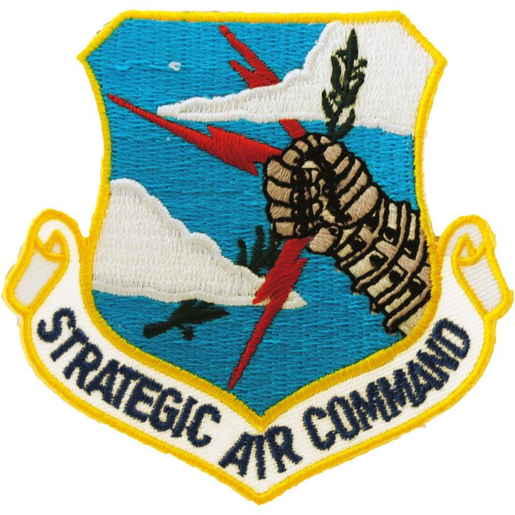 You'll be proud to wear this embroidered US Air Force Strategic Air Command…