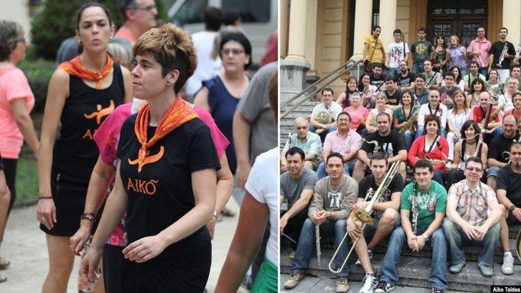 La Banda de Música y Aiko Taldea ofrecen la romería participativa 'BANDtzaldia'