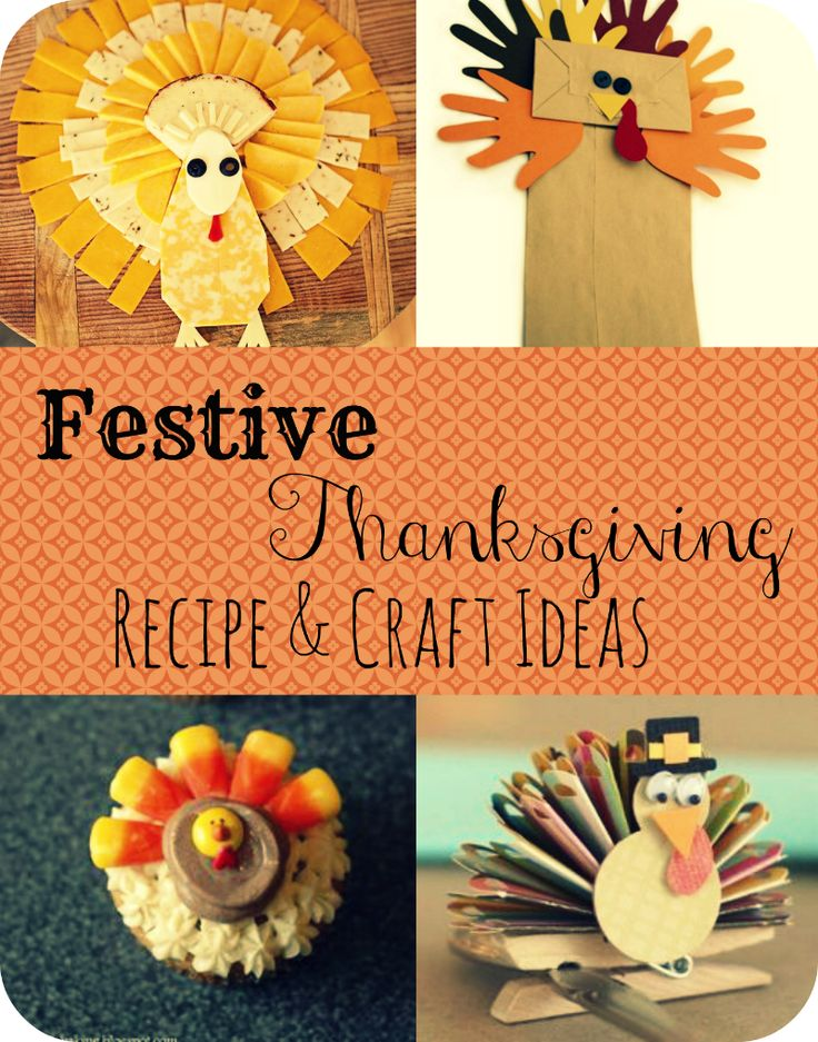 great thanksgiving recipes and craft ideas pinterest