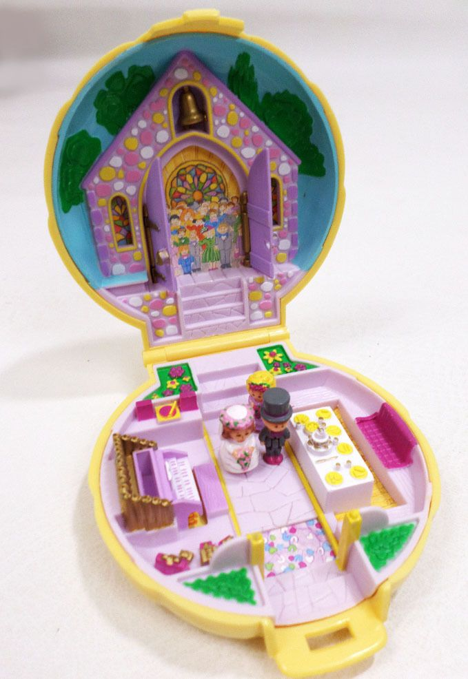 Polly Pockets For Sale: Vintage 1989 Bluebird Polly Pocket Nancy Wedding Chapel