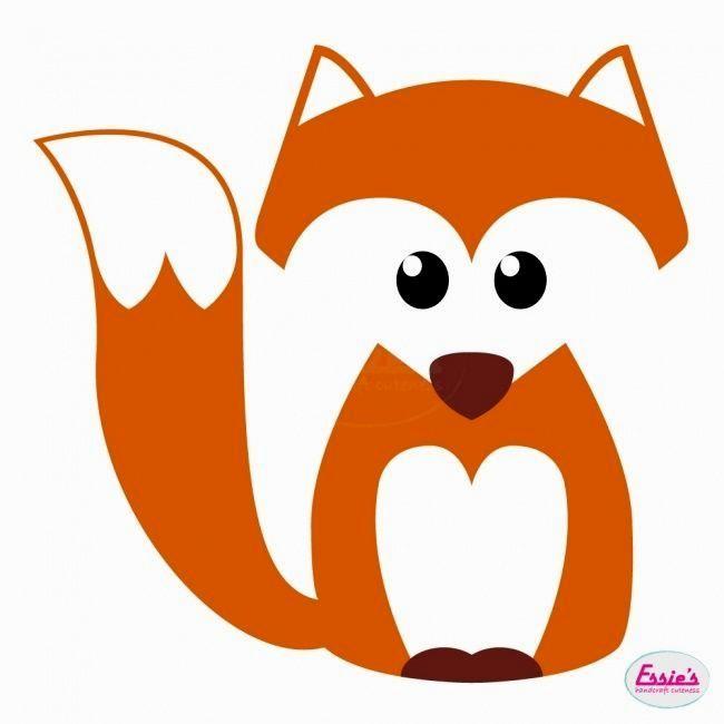 prachtig schattig kleurplaat vos achtergrond foto vinyl
