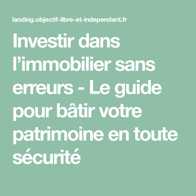 67 Best Investissement Immobilier Images On Pinterest Real Estate   Charges  Recuperables Location Meublee Images Etonnantes